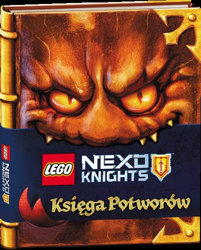 LEGO® NEXO KNIGHTS™ Księga Potworów – takiej książki jeszcze nie było!