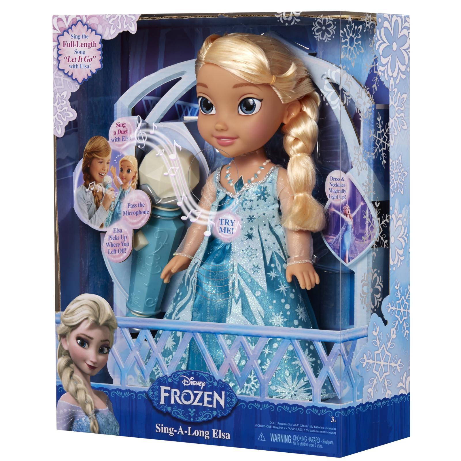 ŚpiewajĄca Elsa Z Filmu Przygoda Olafa Swiat Zabawek