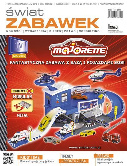 Świat Zabawek – wydanie 4-5/2015